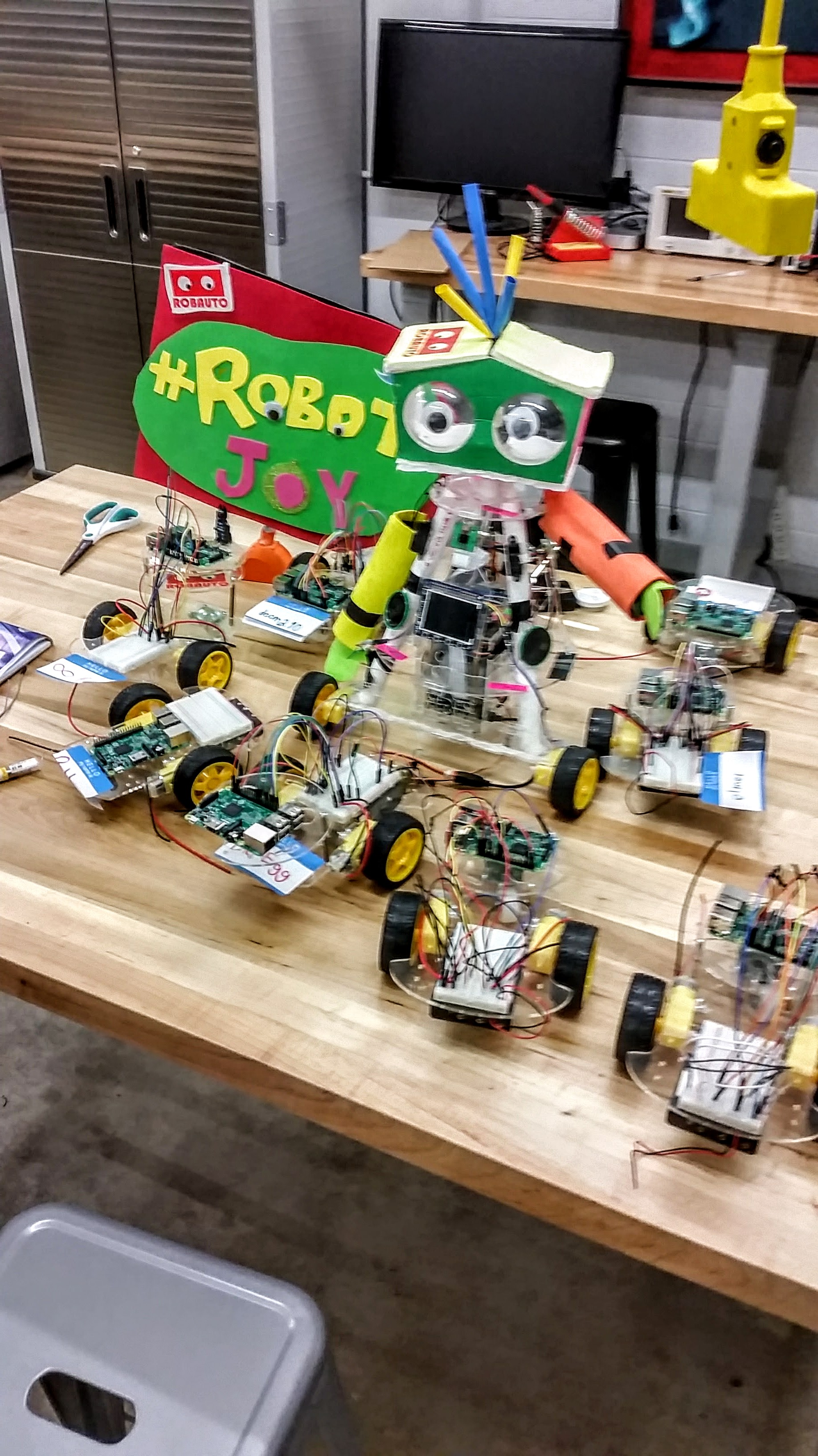 Students as young as 7 are working on the first ever robot swarm built by and for kids.